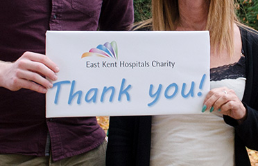 Donate to the East Kent Hospitals Charity